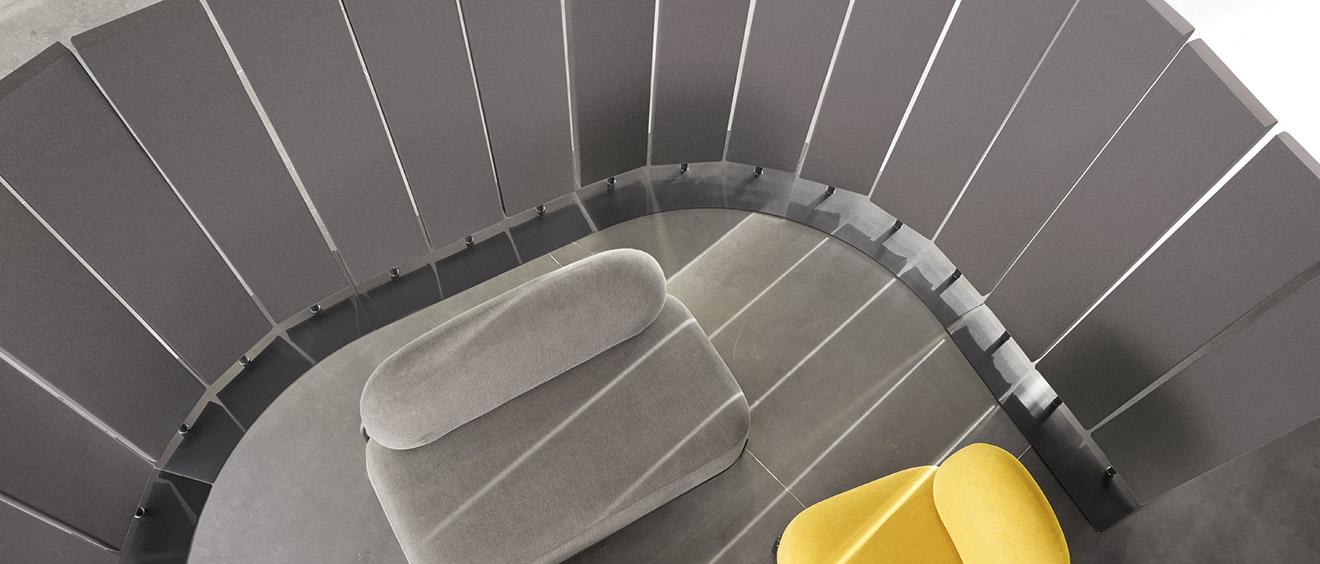 objet acoustique panneaux acoustique Airpanel Totem à poser au sol